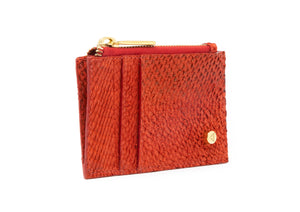 Kayla Cardholder in Red Pepper