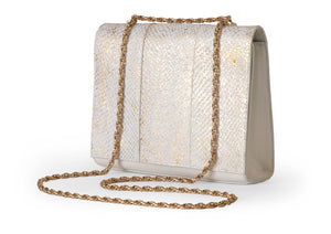 Victoria Two-Way Bag in Gold Sparkle