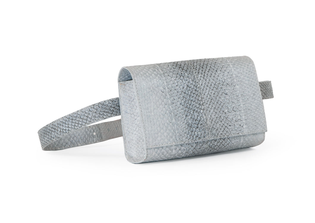 Penelope Belt Bag in Grey Ombre