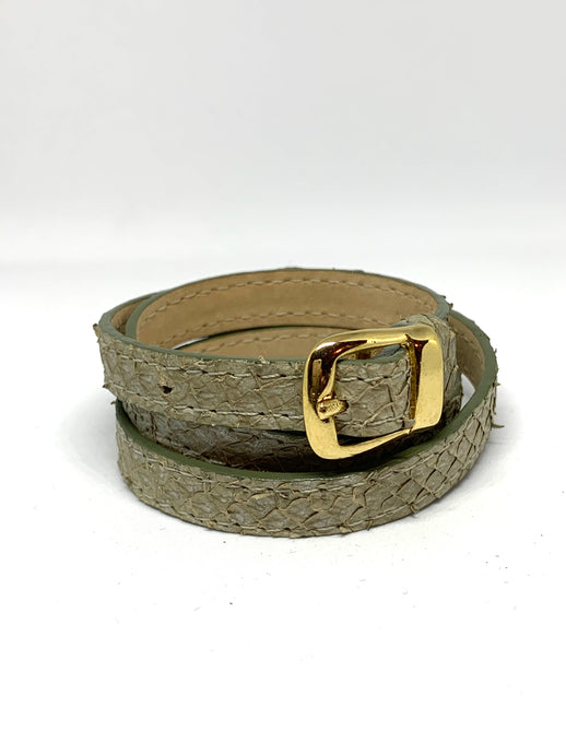Angie Wrap Around Bracelet in Sage