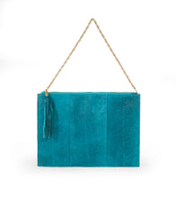 Load image into Gallery viewer, Skye Pouch in Deep Cyan
