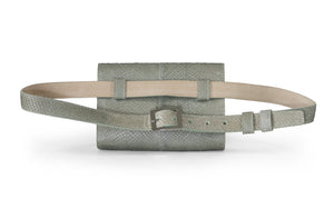 Penelope Belt Bag in Mossy Stone