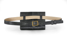 Load image into Gallery viewer, Penelope Belt Bag in Slate