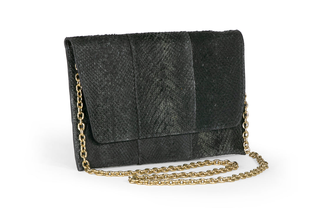 Camila Clutch in Washed Black