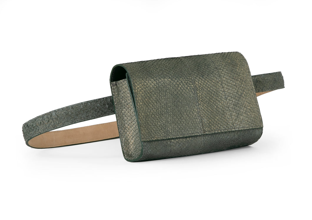 Penelope Belt Bag in Olive