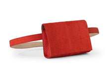Load image into Gallery viewer, Penelope Belt Bag in Red Pepper