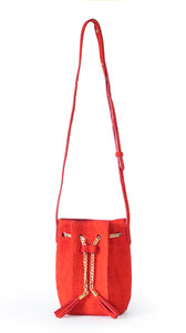 Olivia Bucket in Red Pepper
