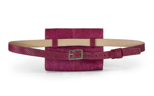 Penelope Belt Bag in Bougainvillea