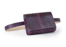 Load image into Gallery viewer, Penelope Belt Bag in Aubergine