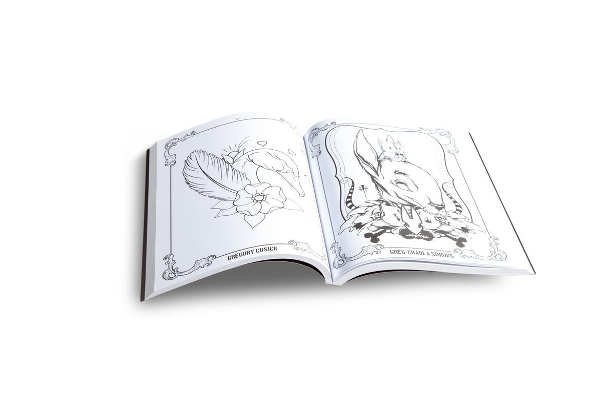 The Coloring Book Project: A Collection By 100 Artists From Around The World