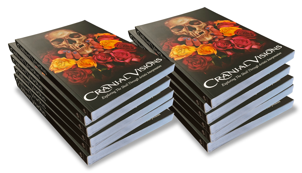 Cranial Visions (Soft Cover) - 12 Books
