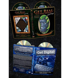 Mike DeVries' Get Real and Get Digital - DVD Bundle Pack