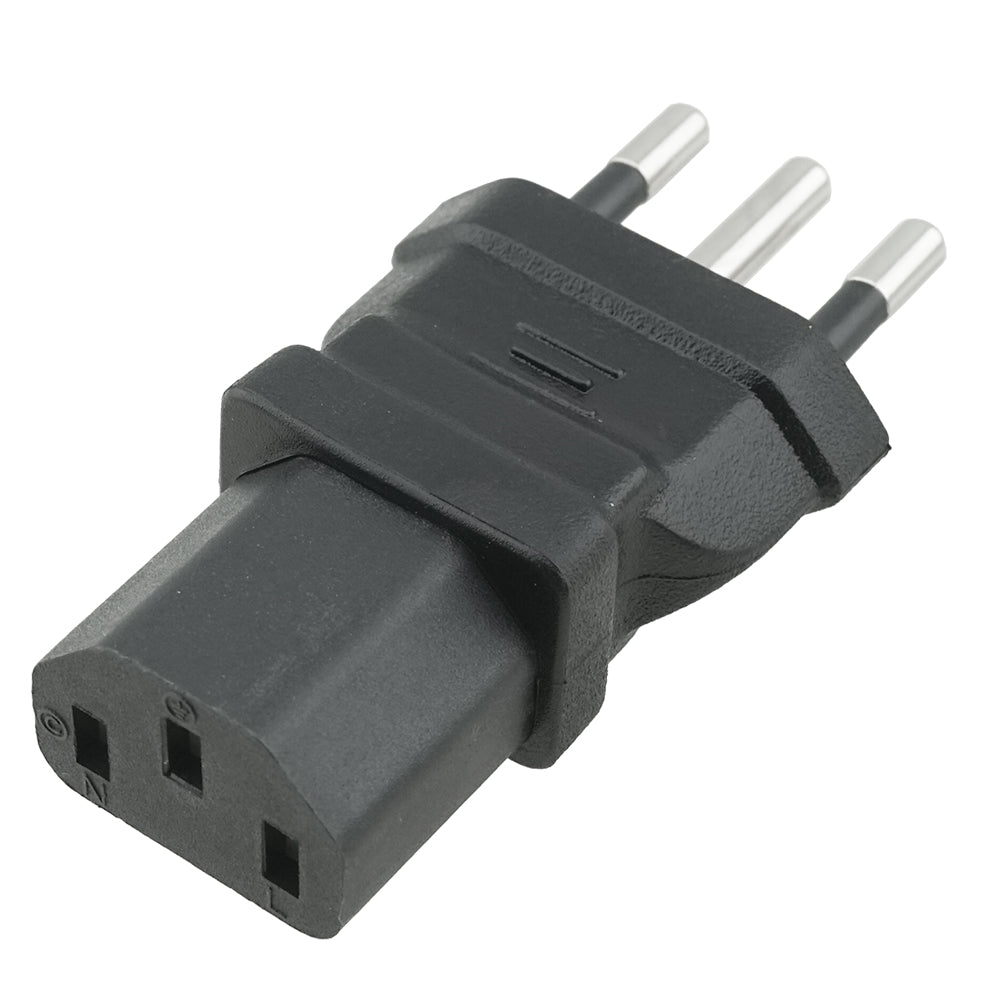 IEC C13 to Italy CEI 23-50 Plug Adapter 2452
