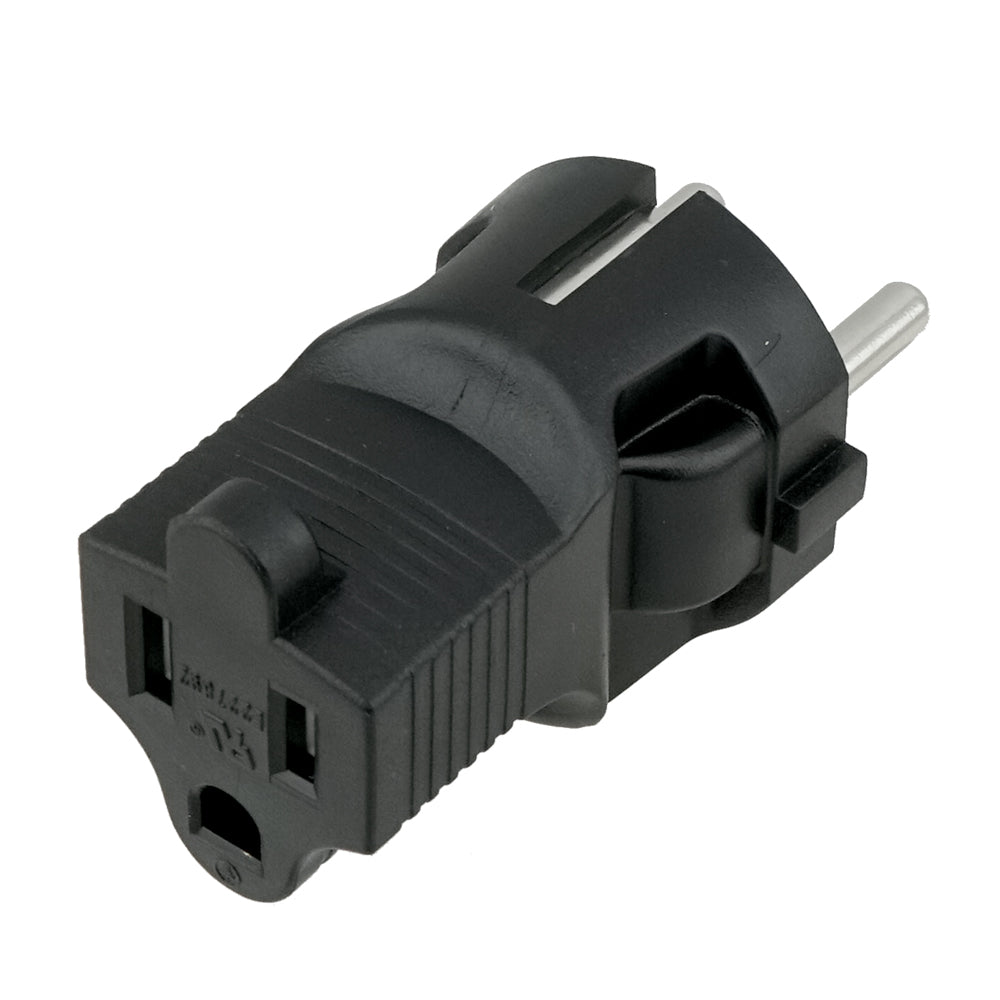 USA to Europe 3 Prong Plug Adapter