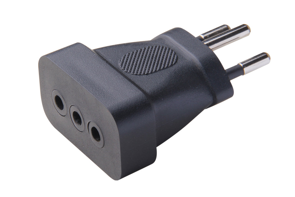 Italy CEI 23-50 to Swiss SEV 1011 Plug Adapter 8521