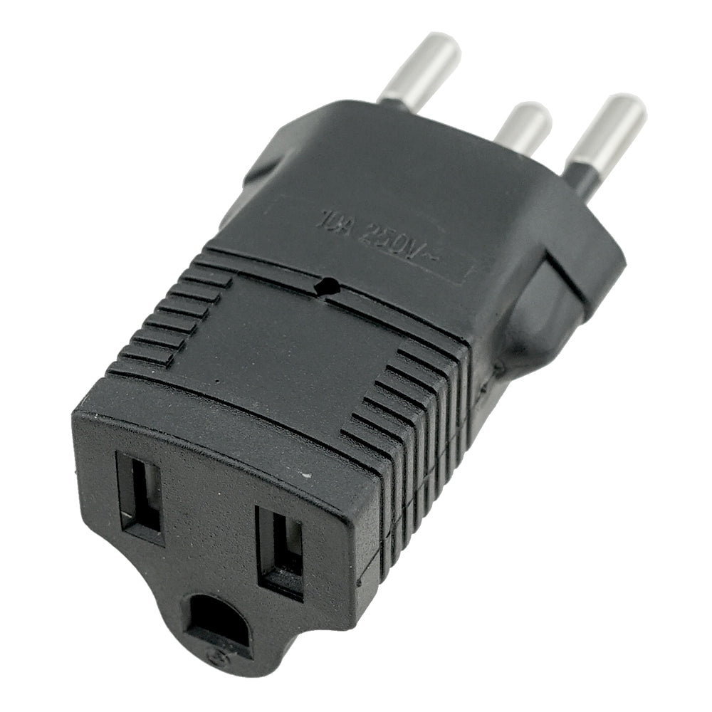 USA to Switzerland Plug Adapter