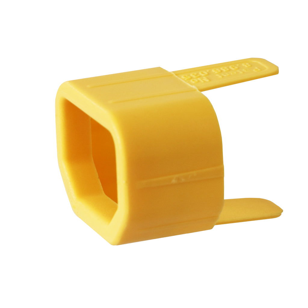 C14 Secure Sleeve Tab - Yellow