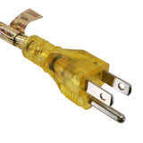 gold power cord plug