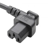 Right Angle IEC C15 Power Cord Receptacle (YC-20L)