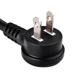 Polarized NEMA 1-15P Up Angle Plug (YP-11R-5)