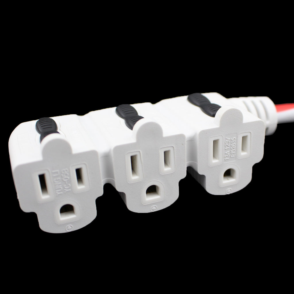 holiday power cord receptacle