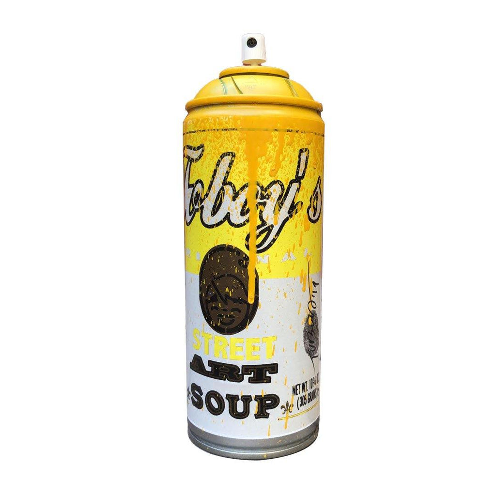 STREET ART SOUP YELLOW