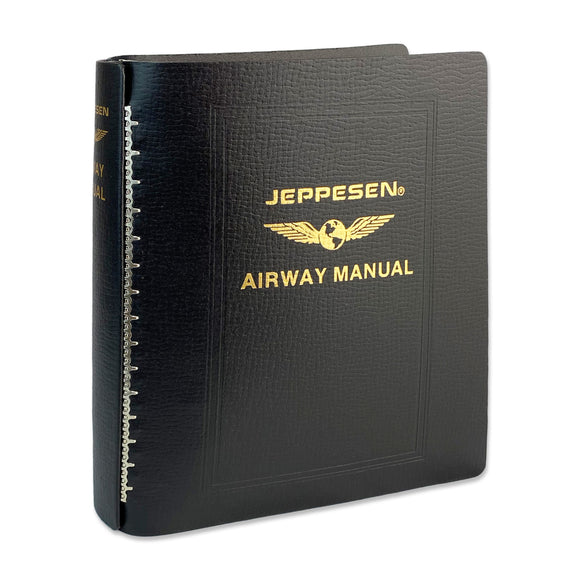 Jeppesen Bonded Leather 2'' Binder