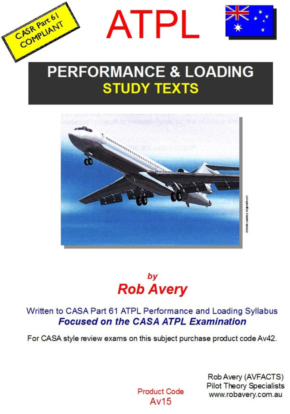 Rob Avery ATPL Performance & Loading - AV15