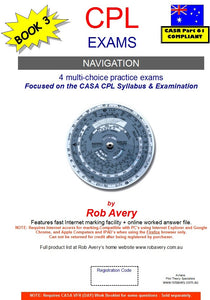 Rob Avery CPL Navigation Practice Exams 1 to 4 - AV24