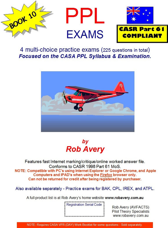 Rob Avery 4 x PPL Practice Exams - AV31