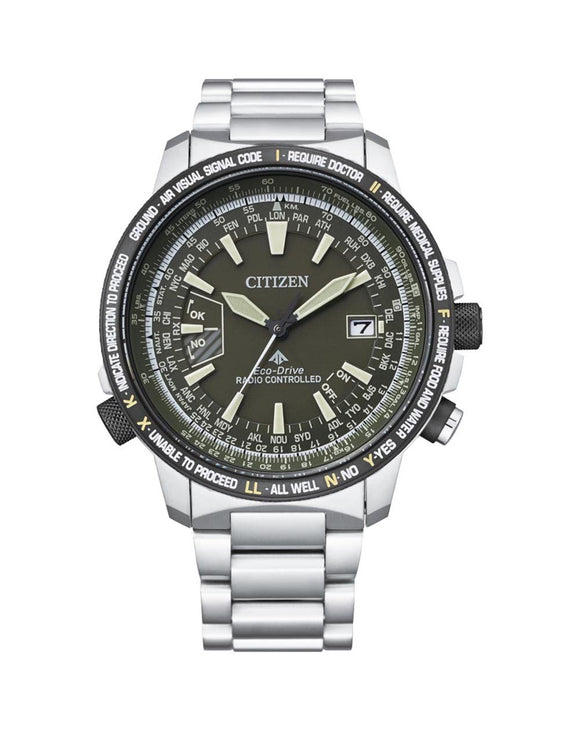 Citizen Sky Promaster Eco-Drive Pilot Watch - CB0206-86X