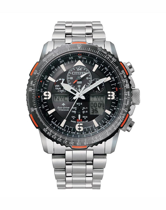 Citizen Promaster Sky Eco-Drive Pilot Watch - JY8109-85E