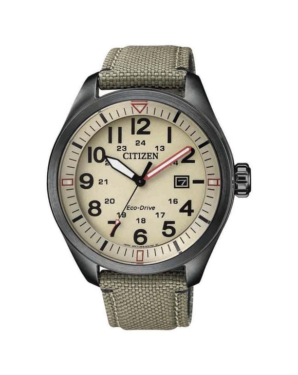 Citizen Military Eco-Drive Watch - AW5005-12X