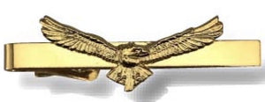 Eagle Tie Bar Gold