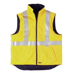 High-Visibility Waterproof Padded Vest