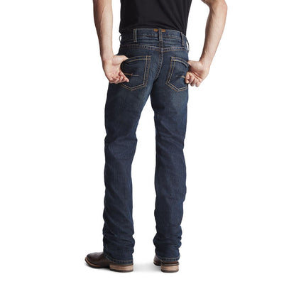 Ariat Mens REBAR M5 Jeans - SLIM STRAIGHT 34inch Leg. Colour: Ironside