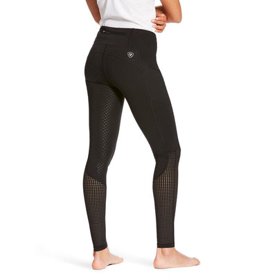 Ariat Womens EOS FULL SEAT Tights - BLACK