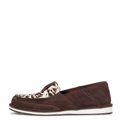 Ariat Womens Cruiser CHOCOLATE CHIP SUEDE - SPOTTED HAIR ON