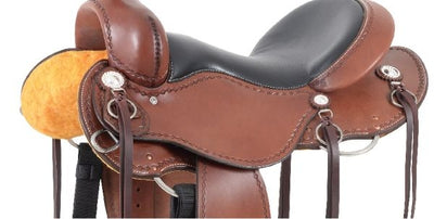 Cashel Trail Saddle No Horn - DETAIL