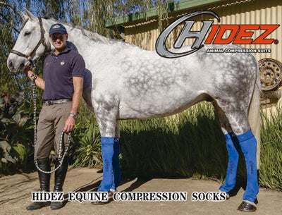 HIDEZ Compression Socks HINDS - for Horses, per PAIR