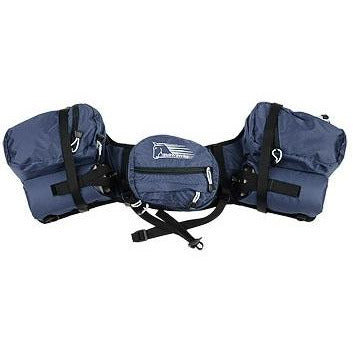 Stowaway Saddle Bags Pommel DELUXE Top View