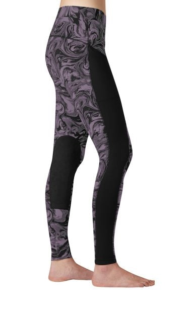 Kerrits POCKET Performance Riding Tight - Colour: ORCHID SWIRL