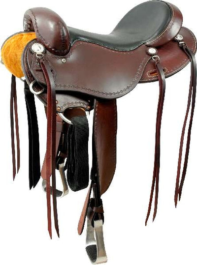 Cashel Trail Saddle No Horn with Turned Fenders