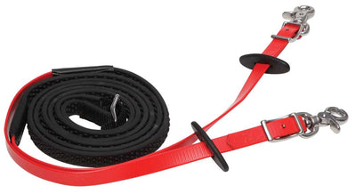 Zilco Reins Endurance - R-GRIP 152cm - RED