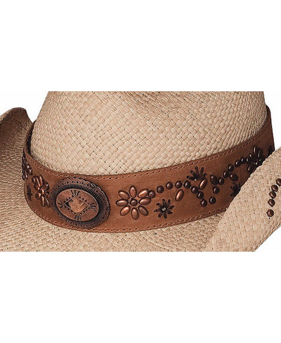 "Bullhide ""More Than A Memory"" Panama Straw Cowgirl Hat"