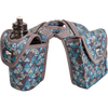 Cashel Saddle Bag Horn Bag with Lunch Bag and Bottle Holder - TRIBAL TEAL