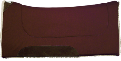 "Diamond Wool Contoured Comfort Cutter Pad 1"" - BURGUNDY"