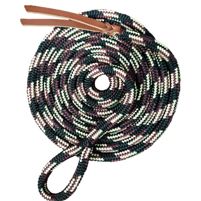 Nungar Knots Lead Rope - Clipless, 12mm Yachting Rope. EXCLUSIVE COLOURS