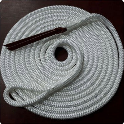 Nungar Knots Lead 12mm x 22FT Clipless - WHITE