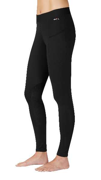 Kerrits POCKET Performance Riding Tight - Colour: BLACK CHEVRON